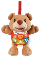 Wholesale Vtech Music Acousto optic Teddy Bear little singing Bear Baby Calm Light Toys Section Battery Included