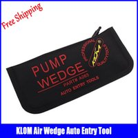 big airbags - Klom black Big size auto airbag air wedges auto locksmith tools pump wedge auto lockout tool