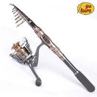 Wholesale Goture Telescope Fishing Rod Boat Sea Fishing Rod Pole With Saltwater Freshwater Spinning Fishing Reel BB