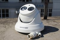 Wholesale 2015 Original DS CE56C4P IT3P Hikvision TVL DIS ICR Dome analog cctv Camera night vision m video recording camera DHL