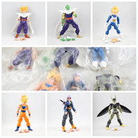 ball bearing z - Dragon Ball Z Joint Movable Vegeta Piccolo Son Gohan Son Goku Trunks PVC Action Figure Brinquedos Toys set Juguetes Figure