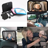 Wholesale Large Adjustable Wide View Rear Baby Child Seat Car Safety Mirror Headrest Mount