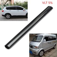 Wholesale 2015 New VLT cm X m Roll PLY Car Window Shading Black Film Car Explosion proof Insulation Glass Auto House Commercial