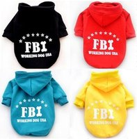 Wholesale FBI ADDI Pet Hoody coat pet sweaters dog sweater dog clothes pet cloth