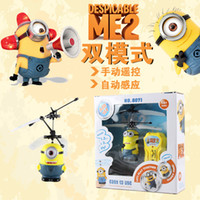 plane model - Planes Aircraft Model Toy Children Kids Boy Toys Birthday Gift Despicable Me Minion Helicopter Remote Control