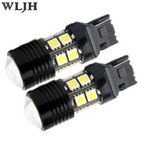 accord projector - White High Power Led Backup Reverse Light Lamp T20 CREE R5 SMD LED Optical Projector bulb For VW Kia BMW Subaru