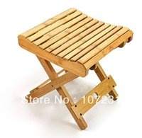 bamboo outdoor chair - 100 Eco friendly Bamboo Folding Portable Chair Wooden Chair Travle Outdoor Fishing Chair Kids Chair