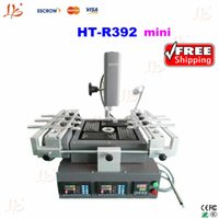 Wholesale Three Temperature Zones BGA rework station Mobile phone chip repair machine Honton HT R392 Mini