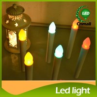 electronic candle - LED Candle Lights Battery Electronic Candle Light LED Long Candle Light Flashing Candles Light Lamp Table Lamp Flickering Christmas Light