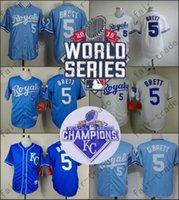 baseball brett - George Brett Jersey White Throwback Kansas City Royals Jerseys For Sale