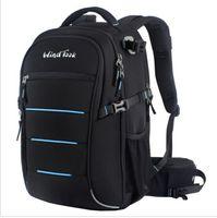 Wholesale Windtook Camera Bag New Arrive Professional Security Waterproof SLR Shoulders Bag SLR Camera Backpack WT14003