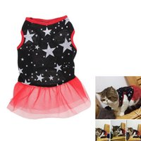 Wholesale Cute Fashion Spring And Autumn Middle Fairy Puppy Red Dress Pet Clothes NVIE order lt no track