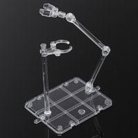 Wholesale High quality Action Base Suitable Display Stand for HG RG Gundam Figure Hook Blue New