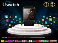 Cheap U10 Leather Strap Smart Watch Blueteeth WristWatch Waterproof U8 for iPhone 6 Samsung S4 S5 HTC LG Android smartphone