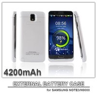 Cheap 4200mAh power case for samsung note3 samsung N9000 external battery power bank