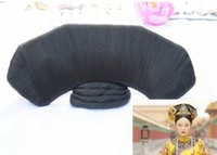 ancient wigs - Cosplay wigs Modelling the wig in ancient China The qing dynasty QiZhuang The queen is installed primary dress Vanquish a pack