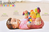 Cheap Wholesale-100% Authentic Baby Toys Baby Rattles Watch Band   wrist band   Socks Rattles Of 4 pcs sets = (2 pcs hands with +2 pcs socks)