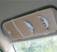 Wholesale High quality Auto Sun Visor CD Holder CD Storage For Car CD Case And Bag Universal Design Mix Color