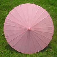 al por mayor papel de la vendimia sombrilla-12pcs / lot hecho a mano Mini Parasol de papel vintage puro Etapa color Sombrillas Kids Mostrar Rendimiento Decoración H105S