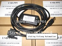 Wholesale 2016 The New Hot Selling PLC014 USB PPI Program Cable for S7 PLC cable converter usb to com rs232 High Quality