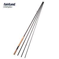 aluminium fishing rod - Fairiland Big Game m ft Fly Fishing Rod Sections Saltwater Fly Rod A grade Cork Handle Aluminium Reel Seat