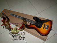 Wholesale and retail Sunburst strings Electric Bass guitar New style
