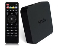 Wholesale 2015 New MXQ TV BOX MX Amlogic S805 Quad Core IPTV Android TV box Kitkat K GB GB XBMC fully Loaded WIFI Airplay Miracast