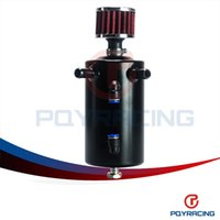 Wholesale PQY STORE UNIVERSAL BREATHER TANK OIL CATCH CAN TANK WITH BREATHER FILTER L PQY TK10BK