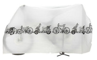 Wholesale Bicycle Bike Cover Waterproof Protection Garage gray white top sale