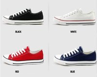 Wholesale Unisex canvas shoes Low Top High Top Sports Shoes High quality Men s Women s Lace Up Casual shoes
