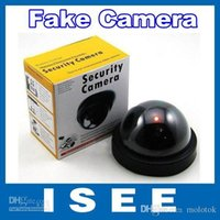 Wholesale ISEE Style Emulational Fake Decoy Dummy Security CCTV DVR for Home Camera with Red Blinking LED