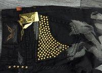 mens designer jeans - DHL New chain key robin jeans men denim regular Straight men pants Jeans designer famous brand mens plus size