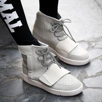 Cheap 2016 Spring New arrival mens shoes yeezy boost 750 shoes yeezy shoes high quality High Top casual sport shoes