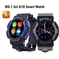 army tracker - 2016 NO A10 Sport Army Waterproof Smart Watch Clock Sync Notifier Bluetooth Wearable Devices For Apple IOS Android Smartwatch Phone