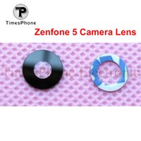 asus sticker - Brand New glass lens for Asus zenfone a500cg A501CG t00j Back Rear Camera Lens Glass Material Sticker Replacement Parts