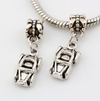 antique convertible cars - Hot Antique silver Alloy Car Automobile Convertible Charms Dangle Bead Fit Charm Bracelet DIY Jewelry x mm