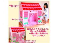 Playhut surge la tienda de casas de brinco juguetes del bebé fiesta de la princesa Boutique Juega Hut Carpa Casa muchachas de los cabritos de la diversión de interior al aire libre Pop Up