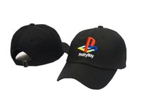 adult logo design - 2016 New Hot Exclusive customized design Panel brand Pretty Boy cap Playstation classic LOGO Baseball golf hat palace god snapback hat