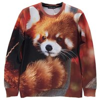 beautiful skeletons - w1215 Newest style arrive fashion winter beautiful D pattern O neck hoodies Skeleton Warrior Red Panda Galaxy D Sweatshirts A1