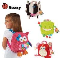 Wholesale Preschooler backpack new models out toy bag Baby snack pack Kindergarten cartoon bags mixed styles