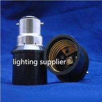 bc bulb holder - 8pcs New Zealand hot selling led light bulb lamp Socket Converter Adaptor BC to ES B22 E27 Screw Lamp Holder base antiflaming