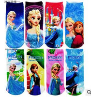 Wholesale Frozen Socks Frozen Cartoon Socks Socks Pair Frozen Years More Than Years