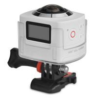 Wholesale 2016 Cube Degrees Panoramic Degrees Fish Eye P WiFi Action Camera Motion Mini DV