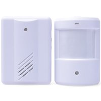 Wholesale High Quality one Branch Music Welcome Alarm Infrared Interaction Welcome doorbell LB