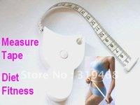 Wholesale 200pcs Accurate Diet Fitness Caliper Measuring Body Waist Tape Measure