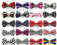 Wholesale Unisex Neck Bowtie Bow Tie Adjustable Bow Tie high quality metal adjustment buckles multi style