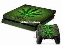Wholesale FOR PS4 PLAYSTATION CONSOLE CONTROLLER DECAL STICKER SKIN SET SMOKER PS4064