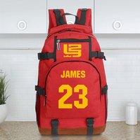 Wholesale Stephen LeBron James basketball backpack shoulder bag Student Backpack Men