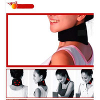 Wholesale Magnetic Therapy Neck Spontaneous Heating Headache Belt Neck Massager Neck Care Cloth Fabric