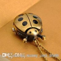 beetle watches - Taobao hot women exquisite pocket watch necklace vine pocket watch flower beetle point bronze long necklace female form